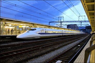JR Central N700 high-speed train