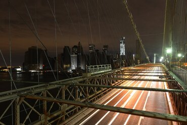 Manhattan following a power outage as a result of Hurricane Sandy