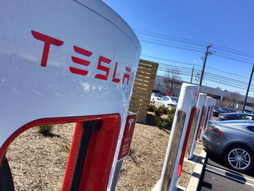 Tesla Motors charging stations
