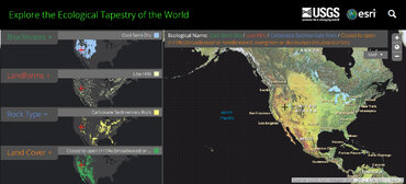 USGS Ecological Tapestry Map