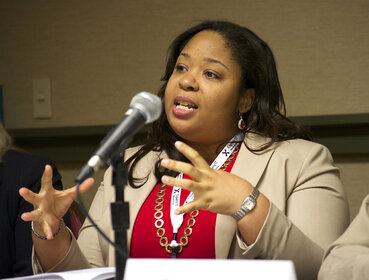 Brandi Boatner, IBM's digital experience manager.