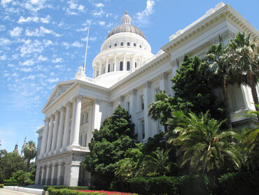 The capitol of California.