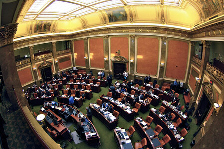 House Chamber of the Utah State Capitol.