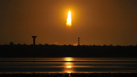 India's Mission to Mars launched on Tues., Nov. 5, 2013.