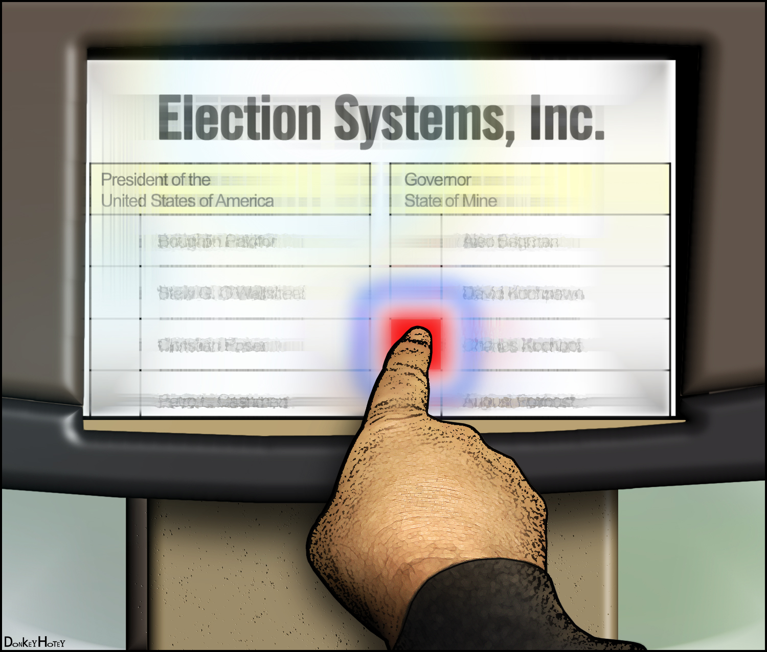 voting system for upcoming election should be improved Complete election process v voting system from the state's perspective it is important that the complete election process be secure, reliable, accurate, user friendly and accessible.