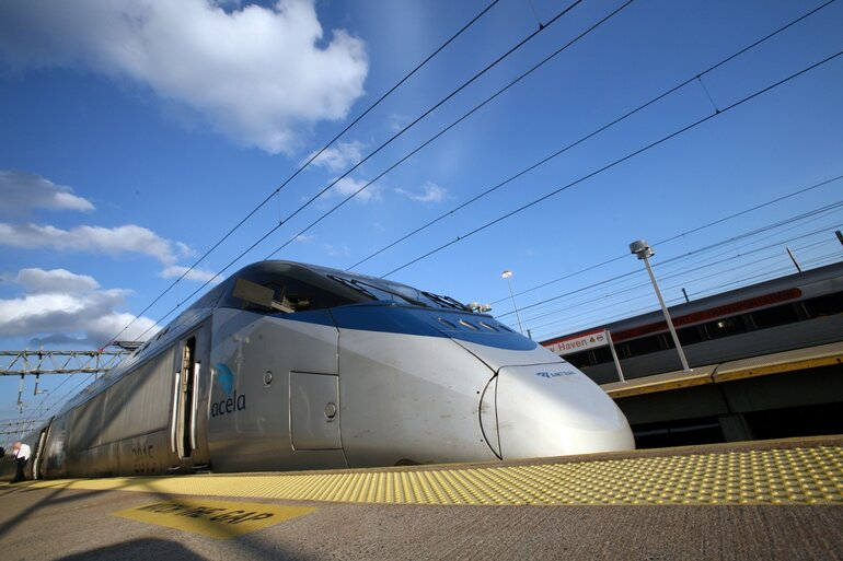 Amtrak Accela high-speed rail train