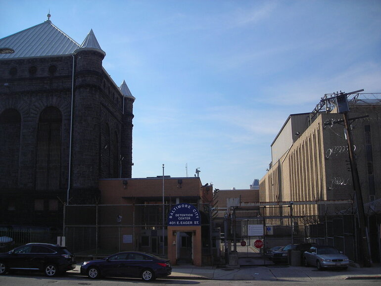 The Baltimore City Detention Center in Maryland