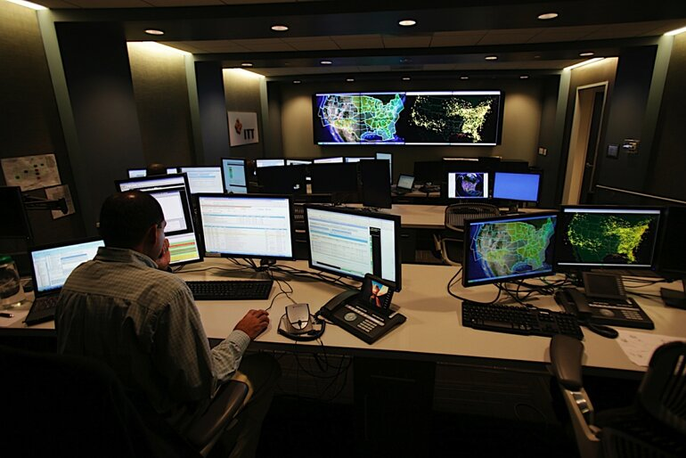 Air Traffic Control center