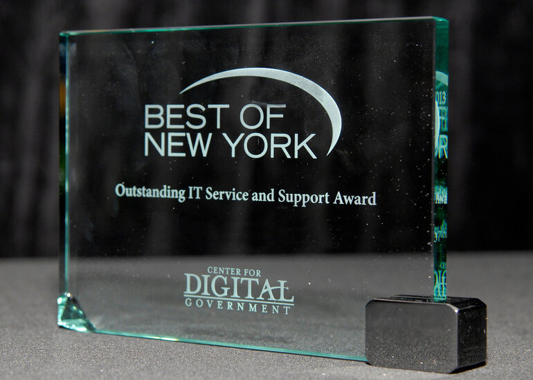 Best of New York award