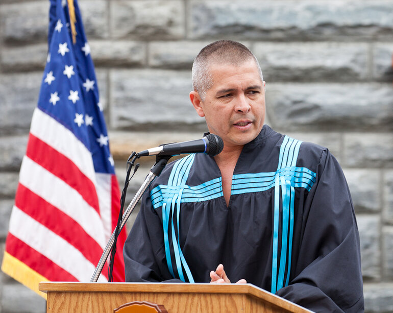 Eastern Band of Cherokee Indians Principal Chief Michell Hicks