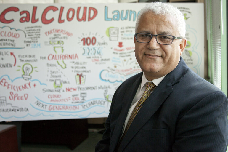 Davood Ghods, chief of California's Office of Technology Services