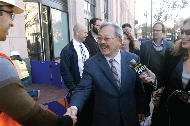 Ed Lee, mayor, San Francisco