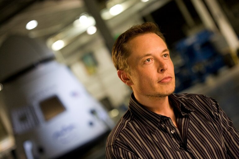 Elon Musk, founder of SpaceX and co-founder of PayPal and Tesla Motors