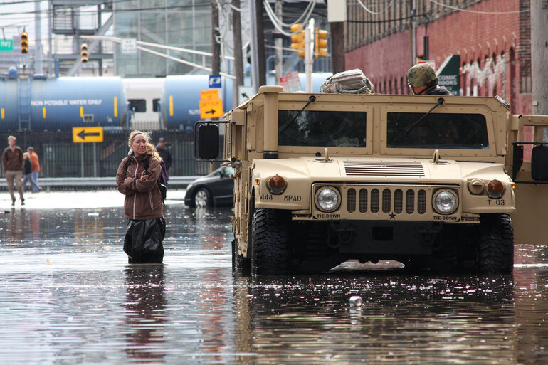 Flooding in Hoboken