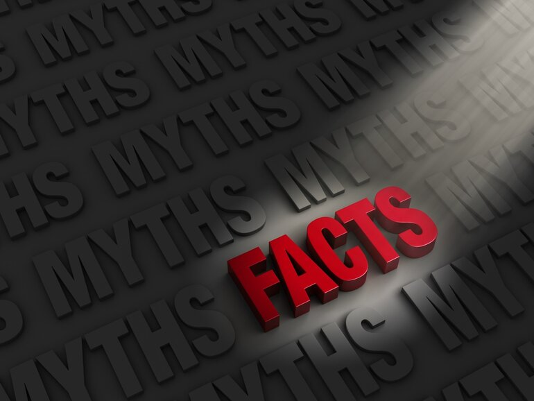 Facts versus myths to illustrate myths about data breaches