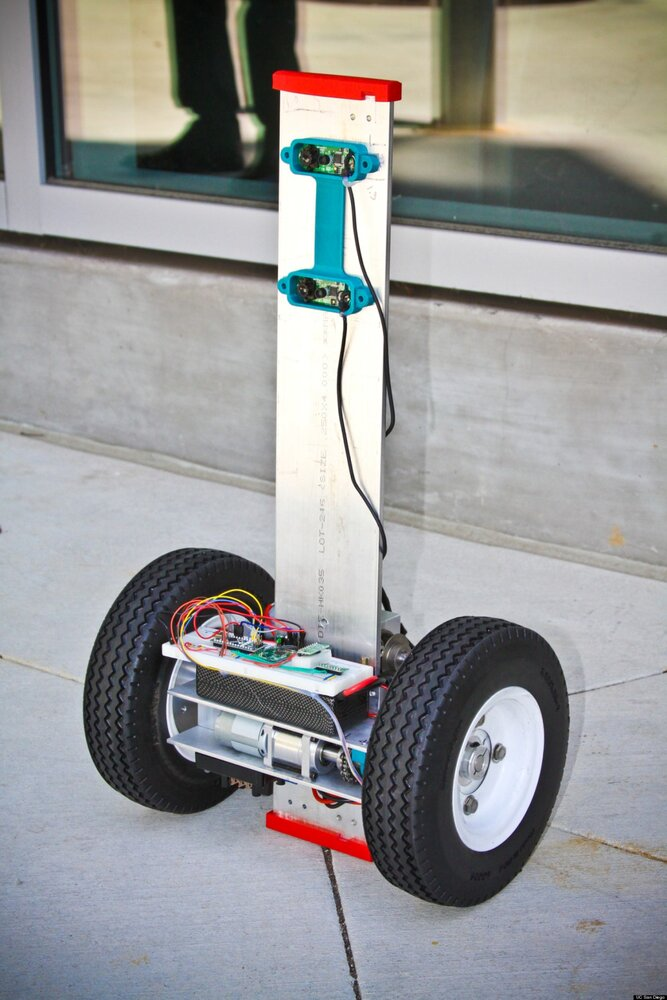 Firebot firefighting robot prototype, developed at UC San Diego.