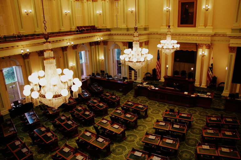 California Assembly chamber