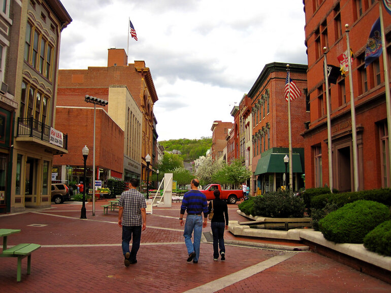 Downtown Cumberland, Md.