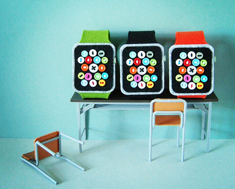low-tech apple watches