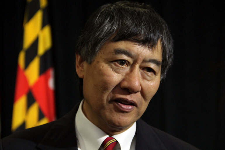 University of Maryland President Wallace Loh