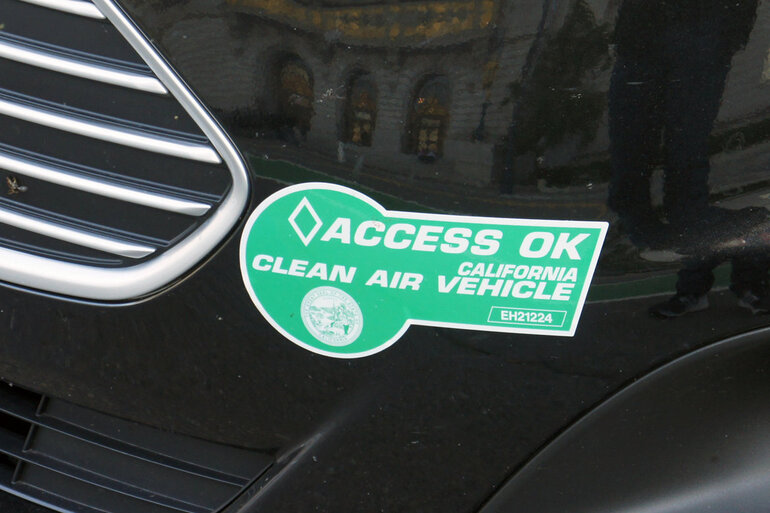 California Hov Stickers >> State Law Inadvertently Sparks Clean Vehicle Purchases