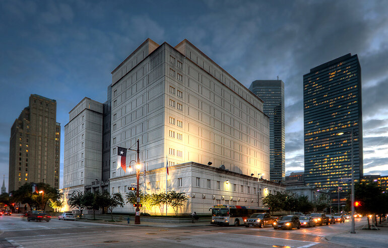 Federal Jail in Houston, Texas