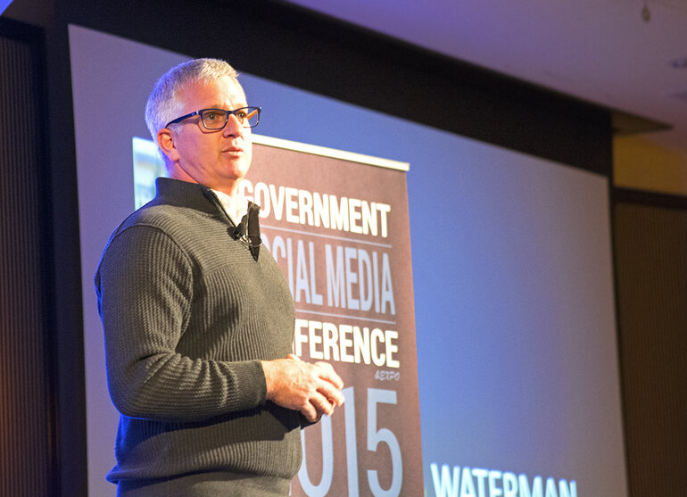James Waterman, Google's regional manager for state and local government,