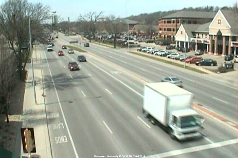 Still image from Madison, Wis., traffic cam feed