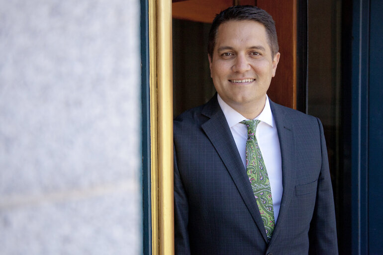 Miguel Gamiño Jr., acting CIO for the city and county of San Francisco