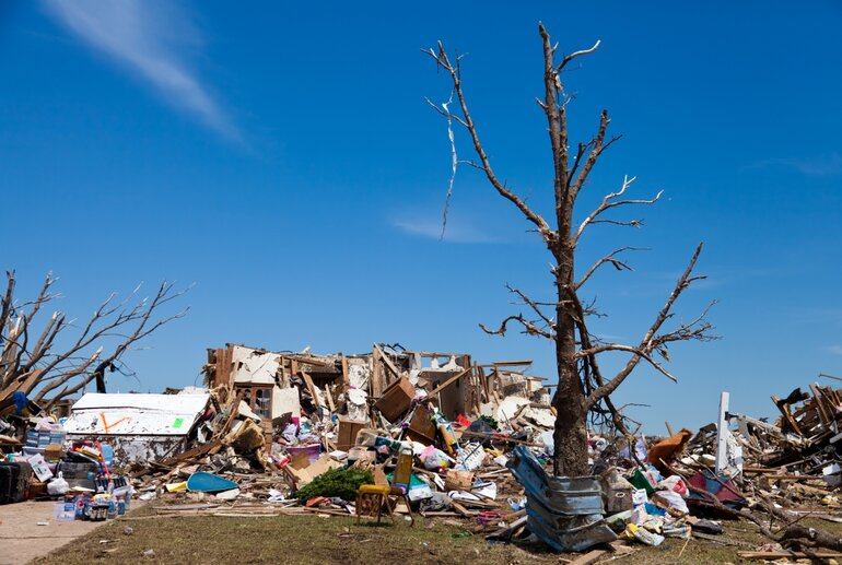 Moore Oklahoma following May 2013 tornado