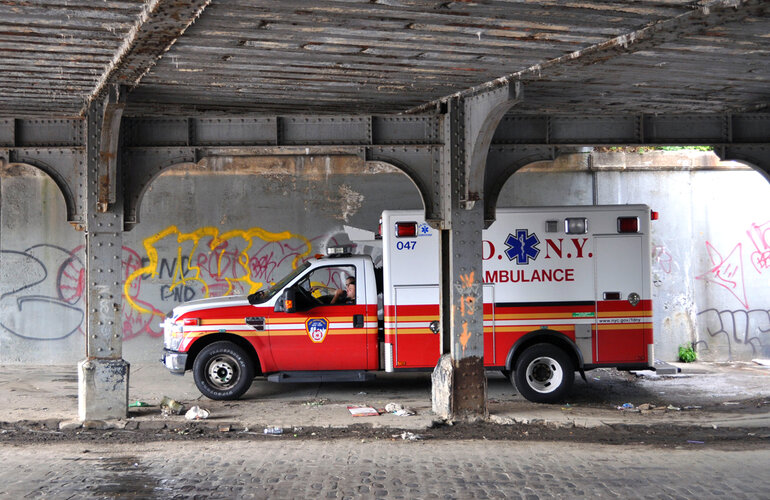 NYC analyzes 911 responses in order to efficiently place its ambulances