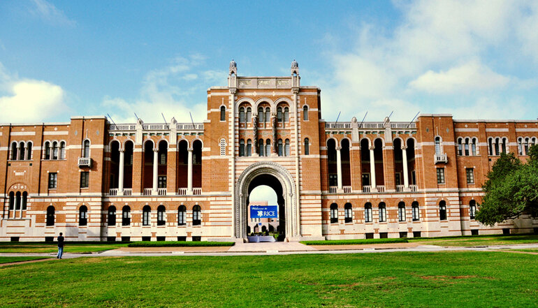 Rice University in Houston, Texas