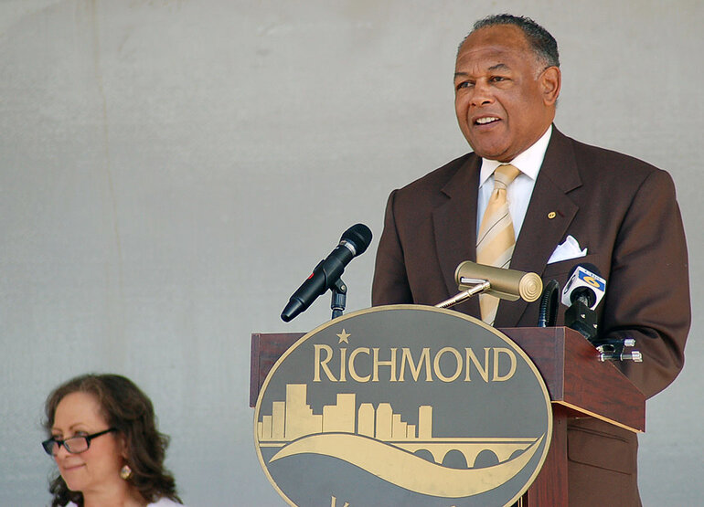 Richmond, Virginia, Mayor Dwight C. Jones