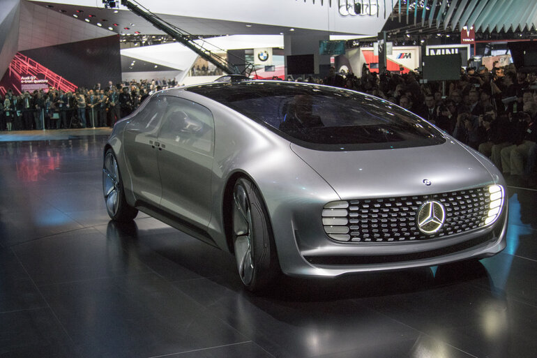 In a driverless future what happens to today 39 s drivers for Mercedes benz autonomous driving