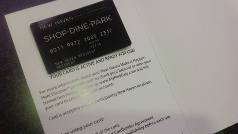 Shop•Dine•Park card