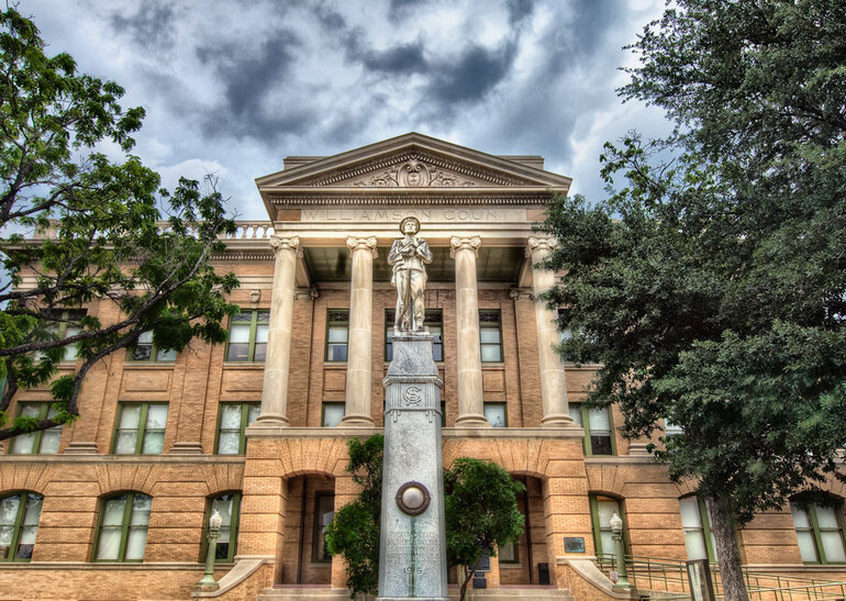 Courthouse in Williamson County, Texas