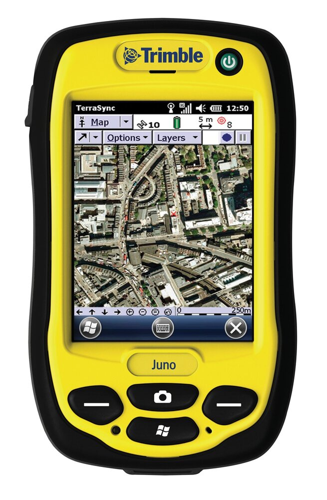 Trimble Juno 3D handheld GNSS device