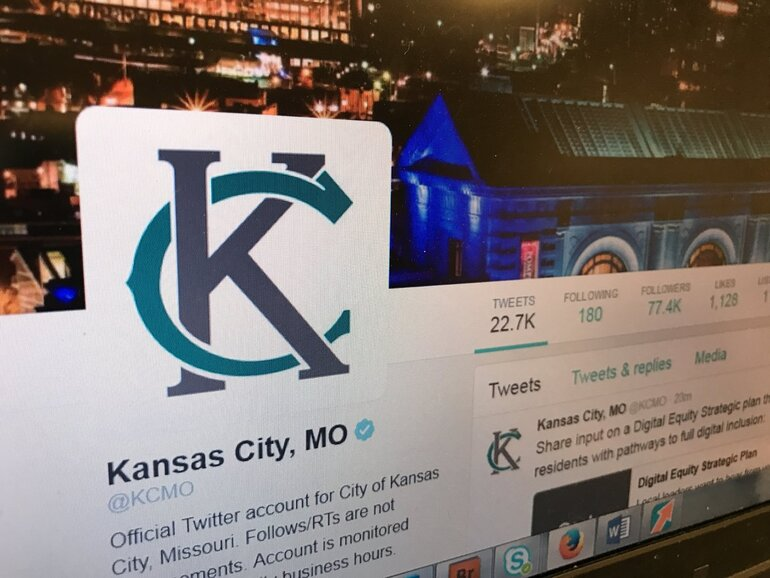 KCMO Twitter page