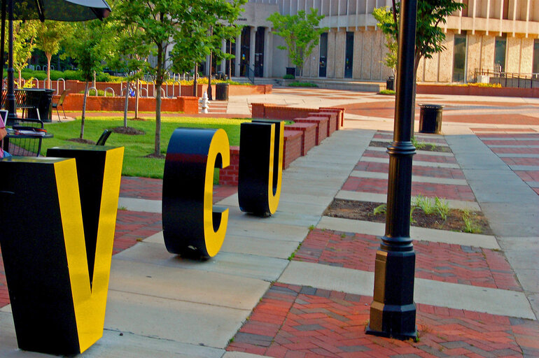 Virginia Commonwealth University sign