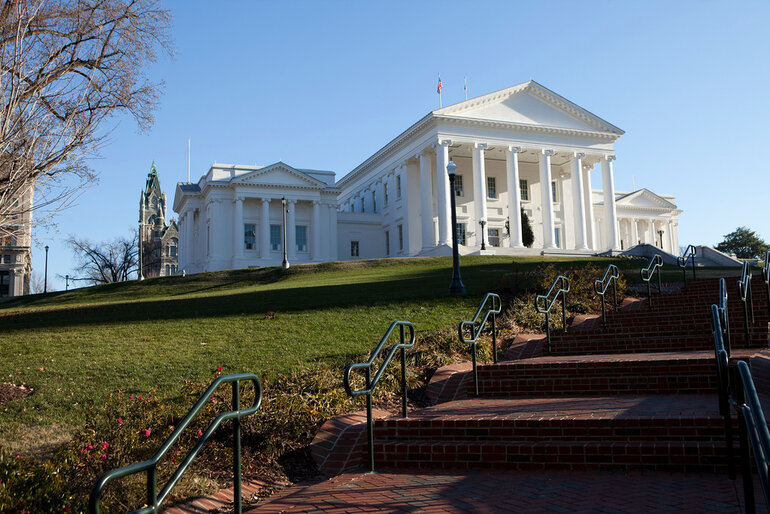 Virginia Capitol in Richmond
