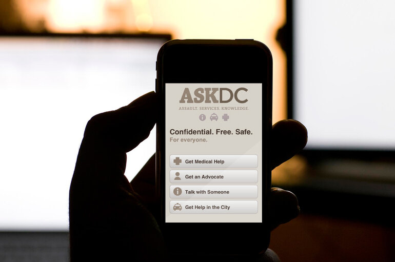 ASK DC app report sexual assault in Washington, D.C.