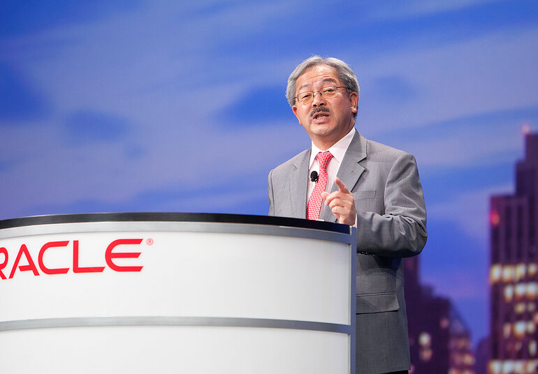 ed lee, san francisco announcement