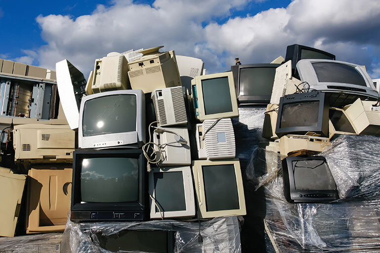 In 2011, only 25 percent of all the nation's electronic waste generated was recycled.