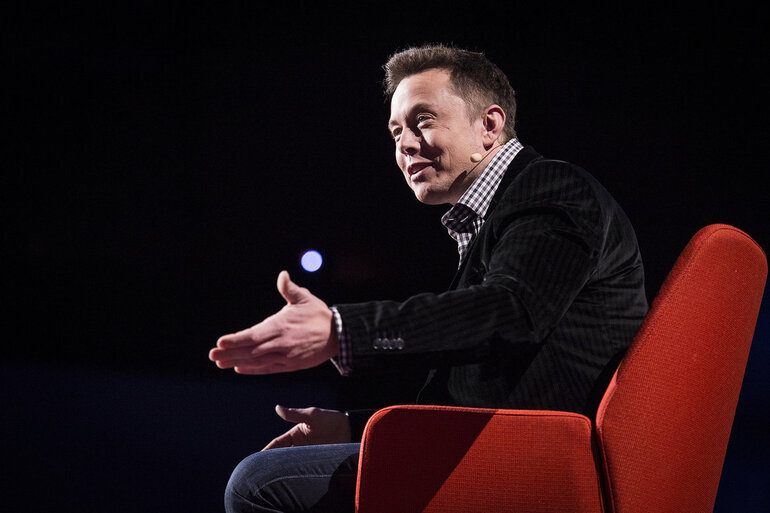 Elon Musk at TED Conference
