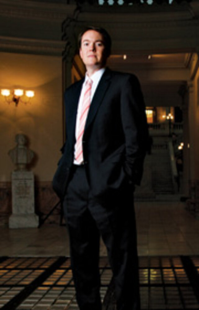 Georgia CIO Patrick Moore/Photo by Kelly LaDuke