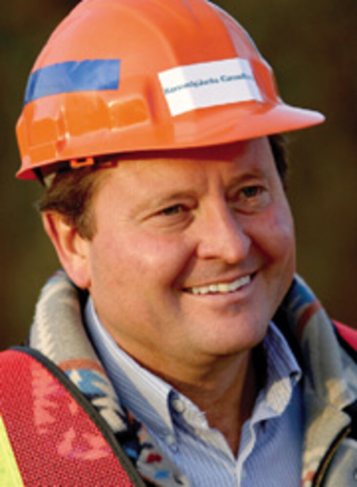 Brian Schweitzer, governor, Montana/Photo courtesy of Montana
