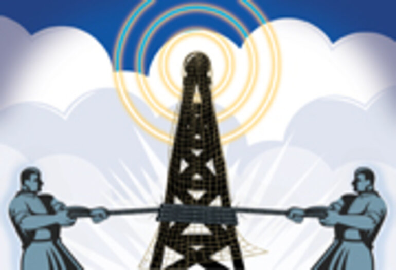 Michigan wireless network/Illustration by Tom McKeith