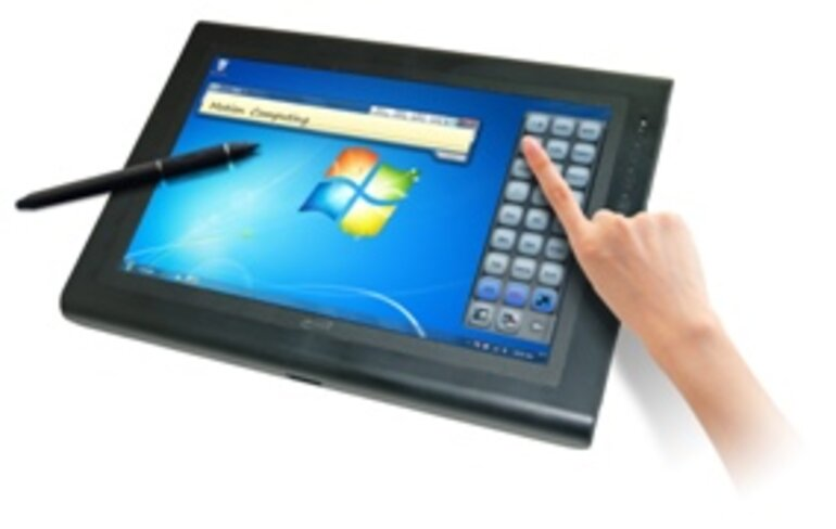 Motion Computing J3500 tablet PC/Photo courtesy of Motion Computing