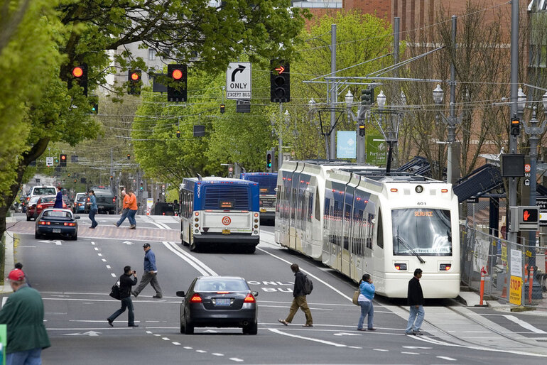 Portland, Ore., TriMet transportation