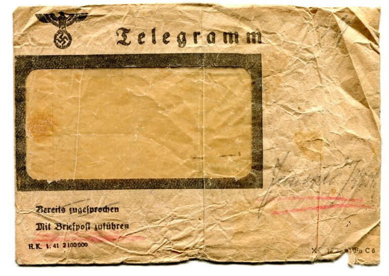 Last telegram ever to be sent to India